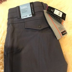 Ariat Pro Series Olympia Charcoal Breech NWT